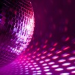 Royalty-Free Stock Photo: Purple disco background