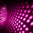 Purple disco background — Foto Stock