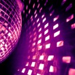 Stock Photo: Purple disco background