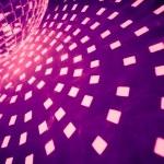 Purple disco background — Stock Photo