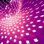 紫色迪斯科背景 — 图库照片