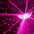 Purple party lights background — Stock Photo #10236131