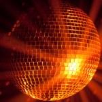partij lichten disco bal — Stockfoto