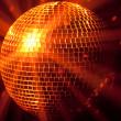 Party lights disco ball — Foto Stock