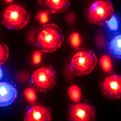 Abstract LED lights - Stock Photo