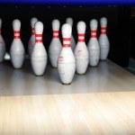 Bowling pins — Stock Photo