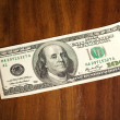 Stock Photo: Dollar banknote