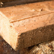Stock Photo: Log of wood