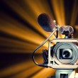Video camera — Stock Photo #10238664
