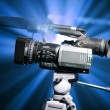 Professional video camera — Stock Photo