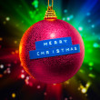 Merry Christmas decoration — Stock Photo #10238911