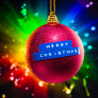 Merry Christmas decoration — Stock Photo
