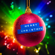 Merry Christmas decoration — Stock Photo #10238923