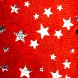 Red Christmas stars background — Stock Photo #10239019