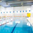 Interior of public swimming pool — Stock Photo #10239117