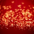 Shiny hearts background — Stock Photo #10239524