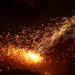 Welding sparks — Stock Photo #10239593