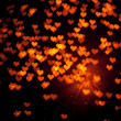 Shiny hearts background — Stock Photo #10239595