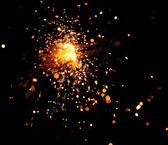 クリスマスの線香花火 — ストック写真