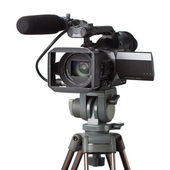 Professional camcorder — Stock Photo