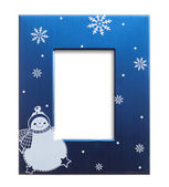 Christmas photo frame — Stock Photo