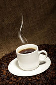 Fresh coffee — Stock Photo