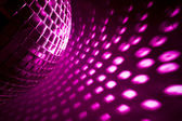 Purple disco background — Stock Photo