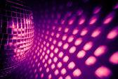 Purple disco backdrop — Stock Photo