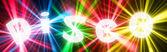 Disco banner — Stock Photo