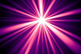 Purple disco rays — Stock Photo