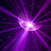Violet party background — Stock Photo