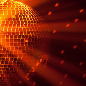 Disco ball background — Stock Photo