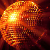 Party lights disco ball — Stock Photo