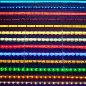 Led light stripes — Stock Photo