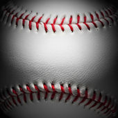 Closeup of an baseball — Stock Photo
