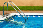 Stairs to the swimming pool — Stock Photo