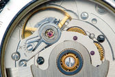 Clockworks macro — Stockfoto
