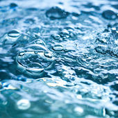 Water with bubbles — Stock Photo