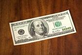 Dollar banknote — Stock Photo