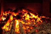 Smoulder fire — Stock Photo