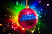 Merry Christmas decoration — Stock Photo