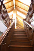 Classic staircase — Stock Photo