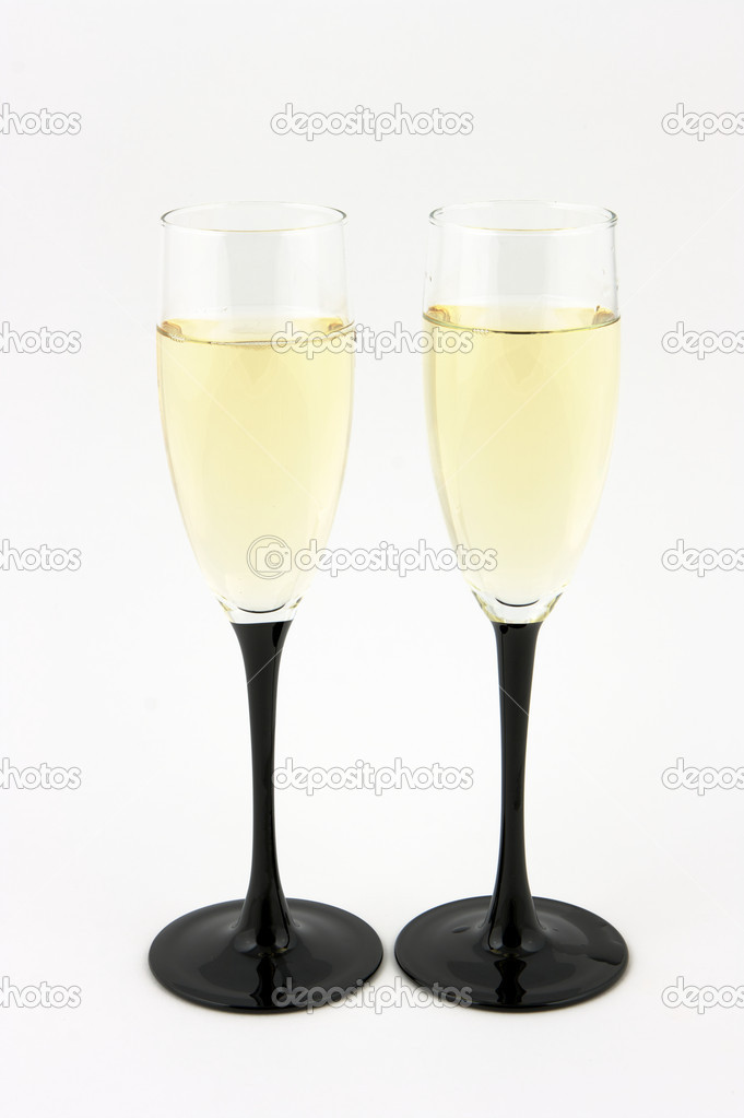 Champagne glasses — Stock Photo #10231297