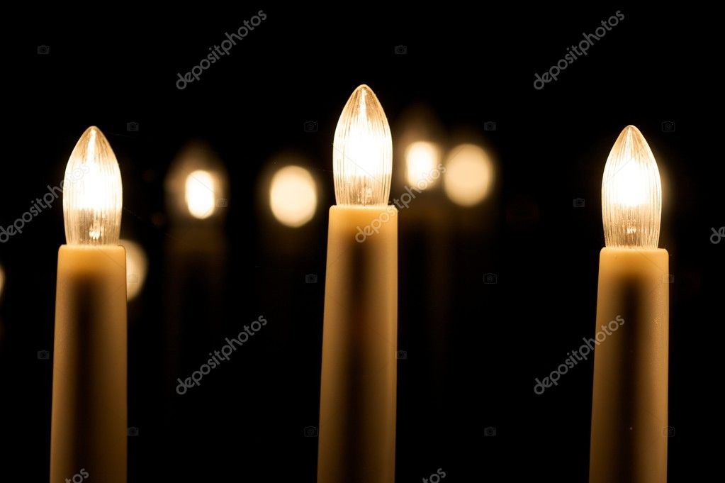 Christmas candles — Stockfoto #10231459