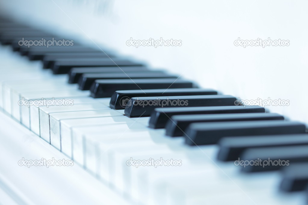 Piano keys  Stock Photo #10233006