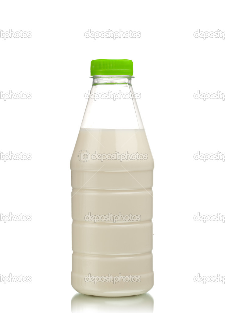 Milk bottle  Stock Photo #10238248