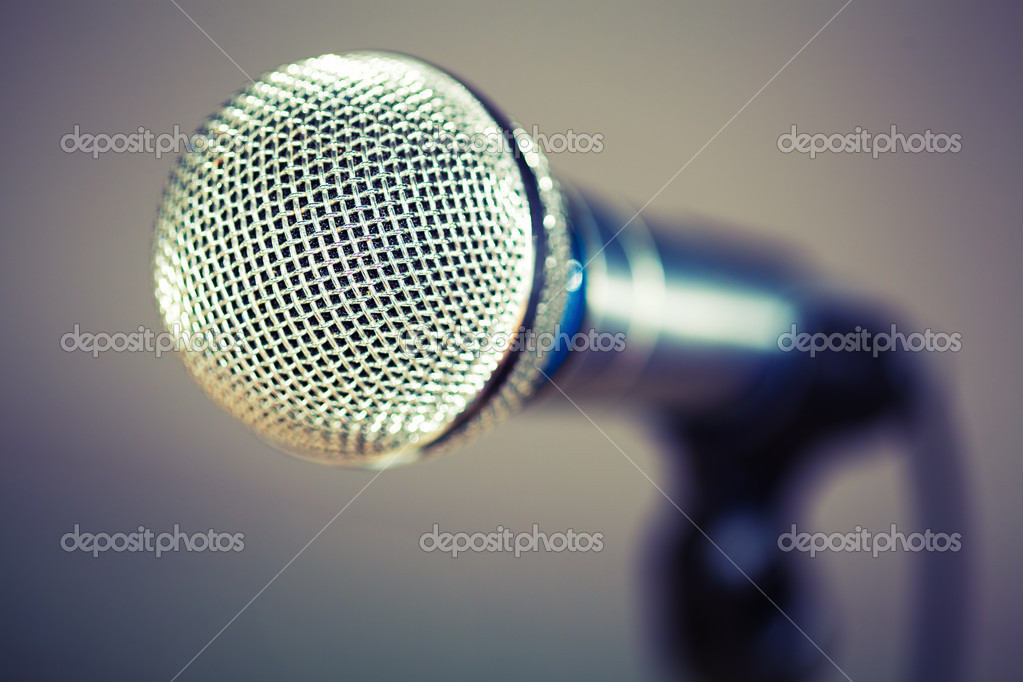 Microphone — Stock Photo #10238435