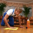 Professional cleaning — Stock Photo