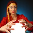 Fortune-teller - Stock Photo