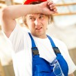 Tired builder — Stock Photo #10241957